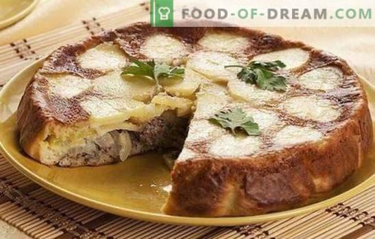 Torta Con Pesce In Scatola E Patate Una Cena Super Ricette Di
