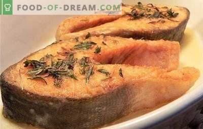 Salmone rosa succoso: come cucinare correttamente un pesce rosso nel forno. Ricette e segreti del salmone rosa succoso nel forno