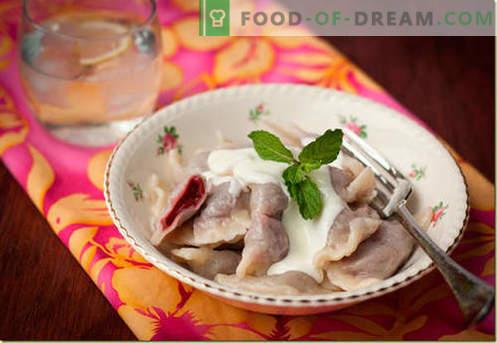 Gnocchi con ciliegie - le migliori ricette. Come cucinare correttamente e gustosi gnocchi con ciliegie a casa.