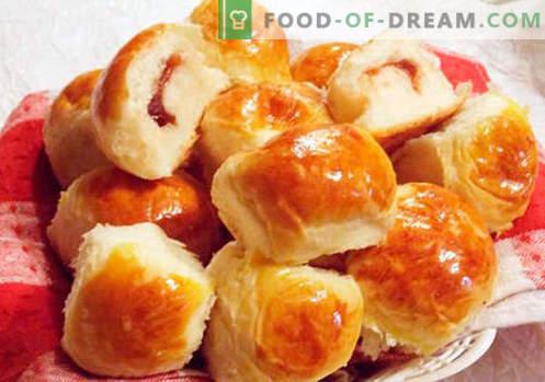 Panini con marmellata - le migliori ricette. Come cucinare correttamente e gustosi panini con marmellata