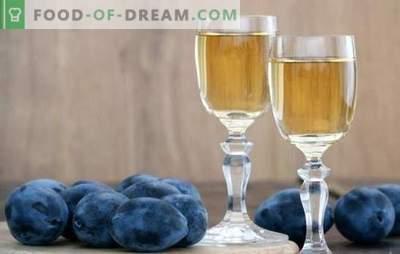 Vino di prugne in casa: non so come - insegneremo! Caratteristiche della preparazione di questo vino da prugna