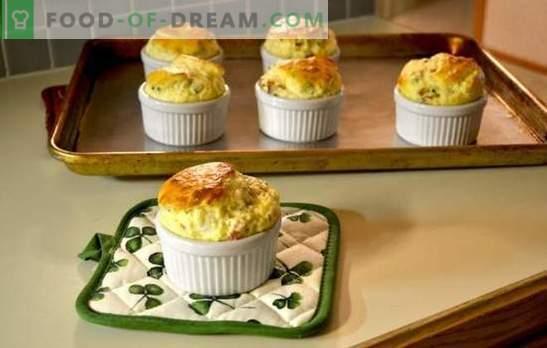 Il soufflé di formaggio è un miracolo su un piatto! Una selezione di ricette per il soufflé di formaggio ordinario, con pollo, verdure e Gordon Ramsay