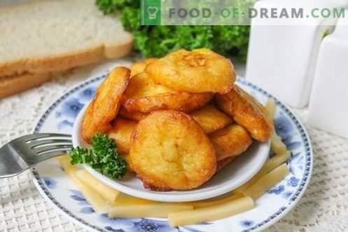 Crocchette di patate - un piatto interessante di patate ordinarie