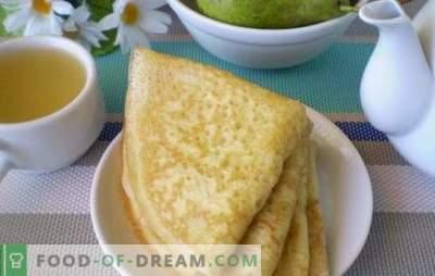 I pancakes con latte acido sono i più soffici e rubicondi. Scopri i segreti culinari di cucinare pancake con latte acido
