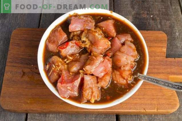 Chinesisches Schweinefleisch mit Rosenkohl