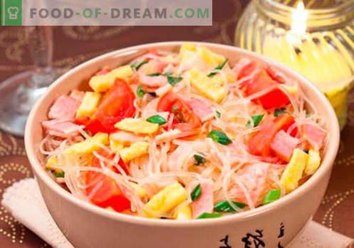 Funchoza con carne - le migliori ricette. Come cucinare correttamente e gustoso funchoza con carne a casa.