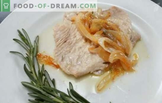 Turchia al vapore: il cibo dietetico può essere gustoso e vario! Ricette di tacchino al vapore: vintage e moderno