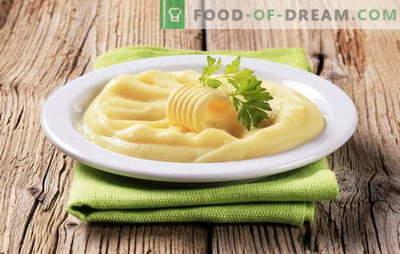 Il purè di uova è un altro modo per creare un popolare contorno. Purè di patate con uovo, con latte e uova, con burro e uova