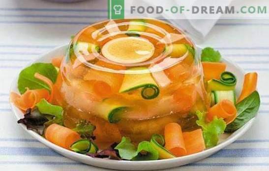 Ricetta passo-passo in gelatina - decorazione di qualsiasi tavolo. Gelatina (ricetta graduale) di vitello o pesce - dettagli per principianti