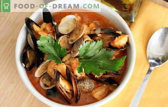 Zuppa Di Pesce Cozze Gamberi Calamari Polpi Ricette Per