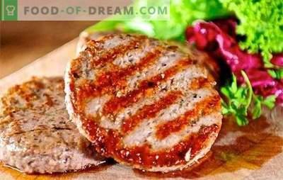 Costolette di hamburger: il mondo del fast food fatto in casa! Le ricette sono cotolette di hamburger salutari, gustose e sicure