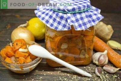 Carote marinate con cipolle e origano
