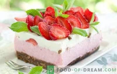 Dessert con fragole: ricette con foto per un'estate dolce. Varianti di diversi dolci con fragole: torte, creme, gelati, pastila