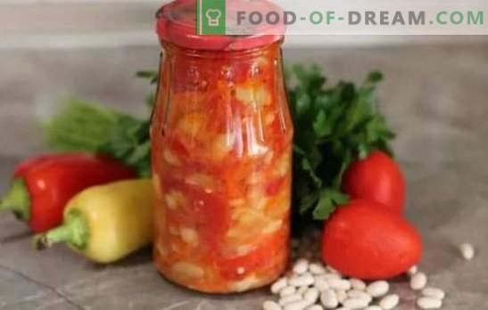 Spuntino con fagioli per l'inverno - un piatto colorato per una cena in famiglia! Interessanti e originali ricette di snack con fagioli per l'inverno