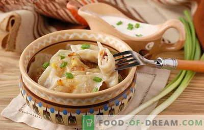 Gnocchi con cipolle - un'opzione economica! Diverse ricette di gnocchi con cipolle e ricotta, patate, uova, funghi