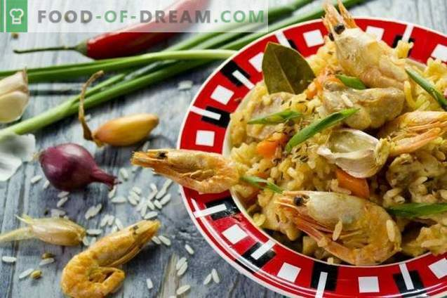 Пилаф со пилешко и ракчиња