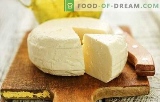 Suluguni fatto in casa - una ricetta dal cuore per gli amanti della produzione del formaggio. Come fare il formaggio suluguni a casa?