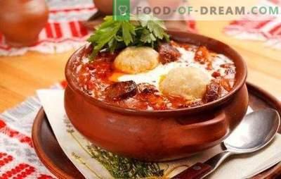 Come cucinare il fegato in una pentola? Ricette di manzo e fegato di pollo in pentole - delizioso stile casalingo