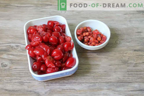 Les raviolis aux cerises sont inhabituels et appétissants!