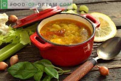 Zuppa di sedano dietetico