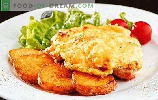 Costolette di maiale con pomodori e formaggio - succosa! Come cucinare le braciole di maiale con pomodoro e formaggio