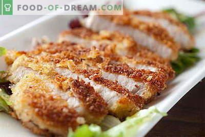 Le costolette di maiale sono le migliori ricette. Come cucinare bene e gustoso braciole di maiale.