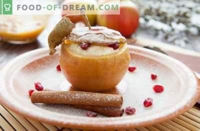 Dessert di mele - una prelibatezza con il tuo gusto preferito! Cottura di gelato, pastiglie, pasticcini, insalate e altri dolci fatti in casa dalle mele