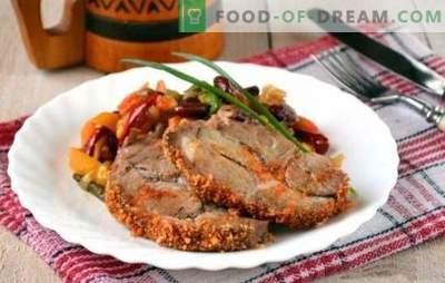 Morceau de porc cuit au four - beaucoup de viande ne se produit pas! Différentes recettes de morceaux de porc cuits au four parfumés et savoureux au four