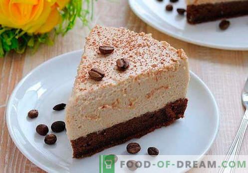 Cake Mousse - le migliori ricette. Come cucinare correttamente e gustosa torta di mousse.
