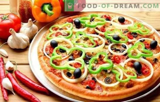 Pizza su kefir: una ricetta passo-passo per una pasta veloce e un ripieno delizioso. Cottura su ricette passo-passo tenera pizza su kefir