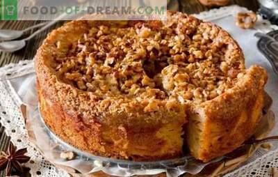 Torta veloce per il tè - ricette per le casalinghe! Ricette per torte veloci per tè con ricotta, mele, cacao, marmellata e marmellata