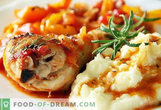 Purè di pollo sono le migliori ricette. Come cucinare correttamente e gustoso purè di patate con pollo.