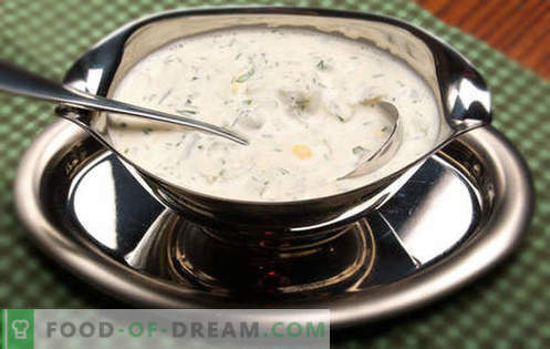 Salsa di panna acida - le migliori ricette. Come correttamente e gustoso per fare la salsa di panna acida.