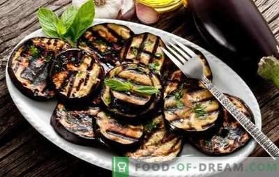 Come cucinare le melanzane in una padella saporita e veloce. Piatti di melanzane in padella con formaggio, erbe e verdure