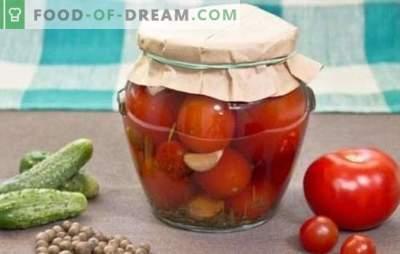 Pomodori in scatola per l'inverno: delizioso ripostiglio. Ricette pomodori in scatola per l'inverno