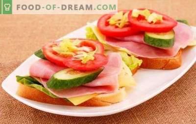 Panini con salsiccia, formaggio e pomodori - elementari ed eleganti! Una selezione di deliziosi panini con salsiccia, formaggio e pomodori