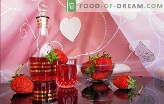 Come fare il vino alla fragola fatto in casa? Bacca romantica e fragrante nelle ricette di vino fatto in casa alla fragola