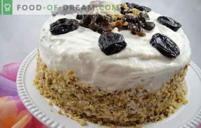 Torta con le prugne - un vero dessert reale! Segreti di pasticceri professionisti della pasticceria con prugne
