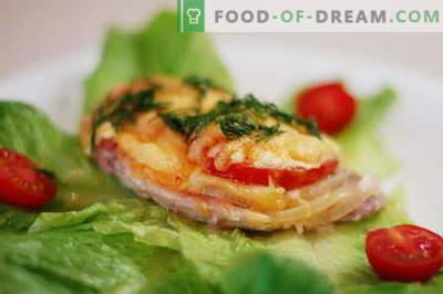 Il pollo francese è il modo migliore per cucinare. Come cucinare il pollo in francese.