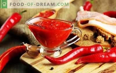 Come cucinare un adjika forte per l'inverno: i segreti delle casalinghe esperte. TOP migliori ricette di adzhika acuto per l'inverno