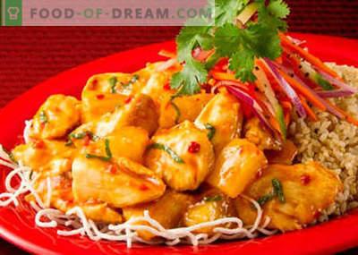 Pollo coreano - le migliori ricette. Come cucinare correttamente e deliziosamente pollo coreano.