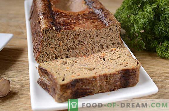 Aknu šokolāde: maigs un veselīgs uztura ēdiens. Autora soli pa solim foto vistas aknu aknu siflēmā