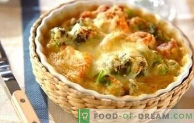 Il pollo con il cavolfiore nel forno è fantastico! Ricette sani e gustosi piatti a base di pollo con cavolfiore in forno