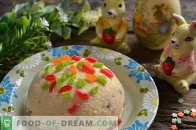 Ricotta di Pasqua con latte condensato e burro di arachidi