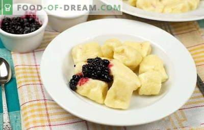 Gnocchi pigri con ricotta - non solo per la colazione! Le ricette di maggior successo per gnocchi pigri con ricotta: dolce e salato