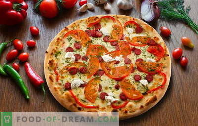 Pepperoni pizza: variations of delicious Italian pie. The best pepperoni pizza recipes with salami, mozzarella, tomatoes
