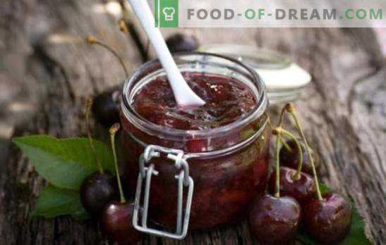 Sweet cherry without sterilization - we save time, effort, vitamins! A selection of cool cherry preparations without sterilization for the winter