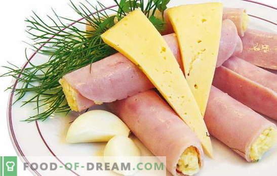 Rotoli con prosciutto, formaggio e aglio a colazione? Ricette rotoli con prosciutto, formaggio e aglio: scatena la tua immaginazione!