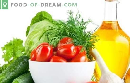 Insalata di cavoli e pomodori per l'inverno - una billetta popolare! Otto ricette originali di cavolo e insalata di pomodori per l'inverno
