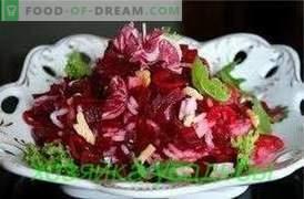 Салат од репка, едноставни рецепти.